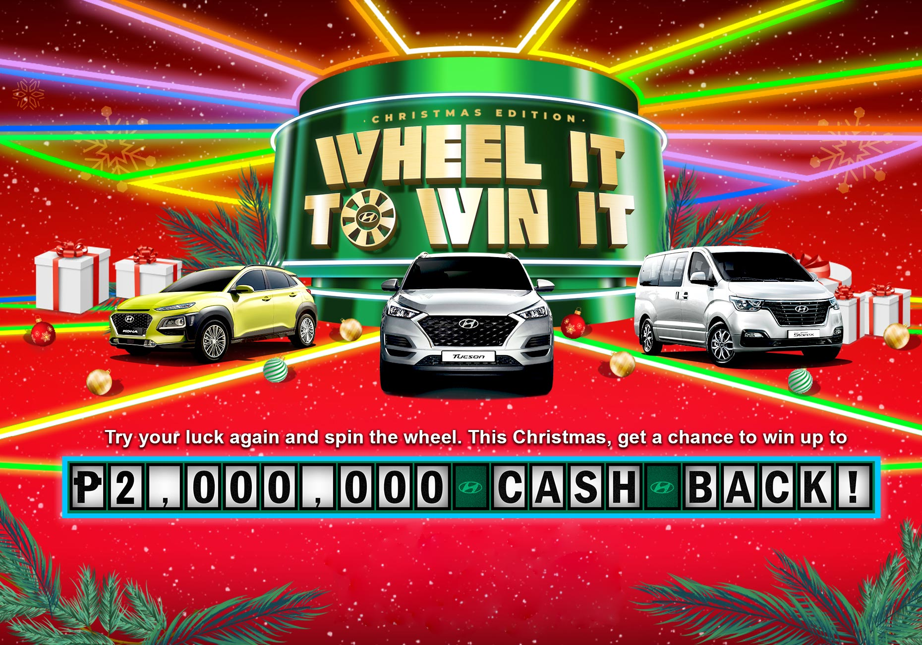 How To Win A Car >> Wheel It To Win It Promo
